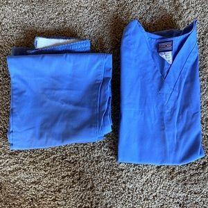 Light Blue Cherokee Scrub Set